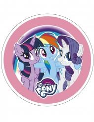 My Little Pony™ slumpmässigt valt tårtlock av stärkelse 21 cm