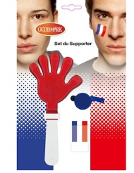 Kit med tillbehör och smink Frankrike