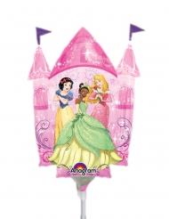 Disney Princesses™ slott aluminiumballong 25x33 cm