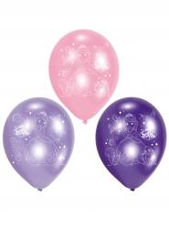 6 Sofia den Första™ latexballonger 23 cm