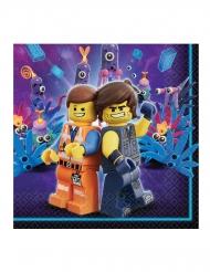 16 Lego-filmen 2™ servetter 33x33