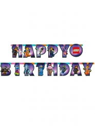 Lego-filmen 2™ Happy Birthday girlang 163x13 cm