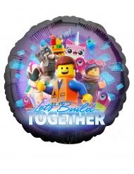 Lego-Filmen 2™ rund aluminiumballong 43 cm