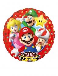 Super Mario Bros™ musikballong 71x71 cm