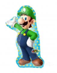 Luigi Super Mario Bros™ aluminiumballong 50x96 cm