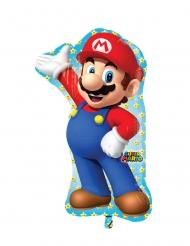 Super Mario™ Aluminiumballong 55x83 cm