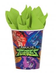 8 Rise of the Teenage Mutant Ninja Turtles™ pappmuggar 266 ml