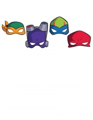 8 Rise of the Teenage Mutant Ninja Turtles™ pappmasker