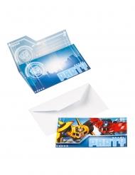 8 Transformers™ inbjudningskort