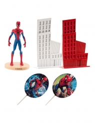 5 Spiderman™ Tårtdekorationer 8 cm