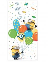 Minions Balloon Party™ dörrdekoration 150x75 cm
