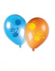 8 Minions™ ballongparty latexballonger