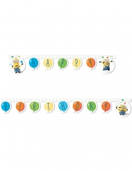 Happy Birthday Minions Balloons Party™ girlang 2 m