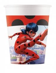 8 Miraculous Ladybug™ pappmuggar 200 ml