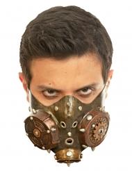 Steampunk gasmask vuxen