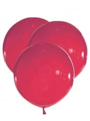 5 Jättestora latexballonger röd 47 cm