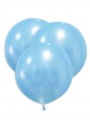 5 Jättestora latexballonger blå