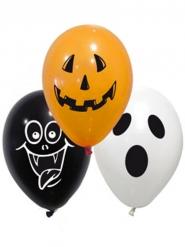 10 Halloweenballonger 28 cm