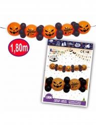 Halloweengirlang med latexballonger 1,8 m