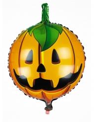 Aluminiumballong Halloweenpumpa 45 cm