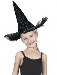 Lyxig häxhatt för barn med stjärnor