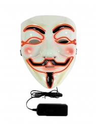 LED-mask anonymous vuxen