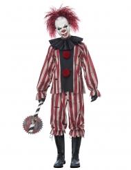 Demonisk clowndräkt vuxen