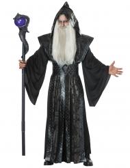Mörk magiker vuxendräkt