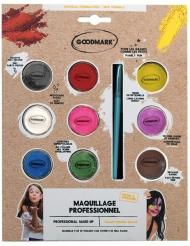 Professionell sminkpalett 9 färger 4 g