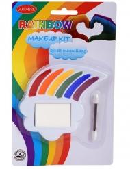 Sminksats regnbågsfärger