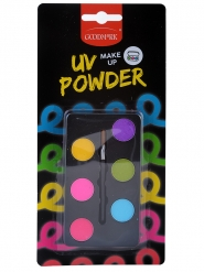 UV-sminkpalett 6x1 g