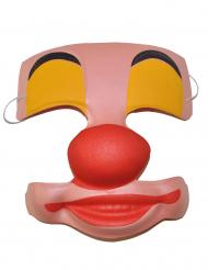 Clownmask i plast
