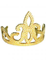 Guldig tiara barn