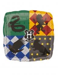 Hogwarts™ fyrkantig  aluminiumballong 68x63 cm