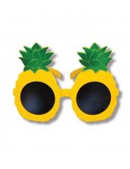 Gula ananasglasögon vuxen
