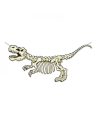 Girlang med dinosaurieskelett 71x152 cm