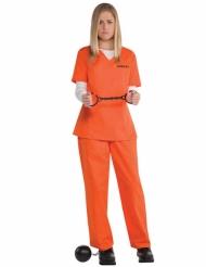 Orange fångedräkt dam