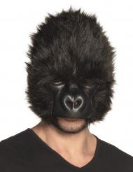 Lurvig gorillamask vuxen