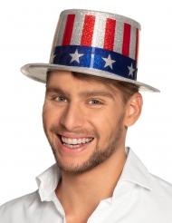 USA-hatt med paljetter vuxen