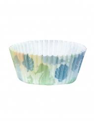 50 Muffinsformar med sjöjungfrumotiv 6,5 cm