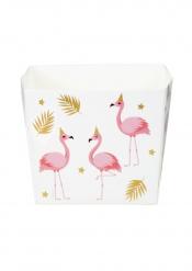 6 Tropiska flamingolådor 40 cl