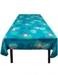 Tropisk blå Flamingoduk 130x180 cm