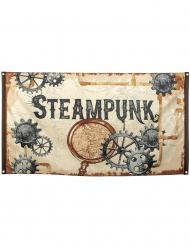 Steampunkflagga 90x150 cm
