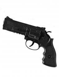 Svart polispistol 21 cm