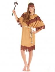 Indianklänning i större damstorlek