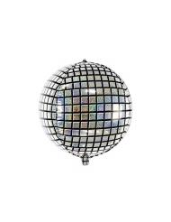 Aluminiumballong discokula 40 cm