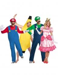 Mario™ med vänner gruppdräkt vuxen
