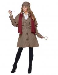 Detektiven Deborah damdräkt