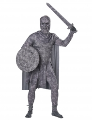 Förstenad krigare herrdräkt