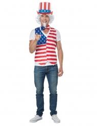 Amerikansk patriot herrdräkt